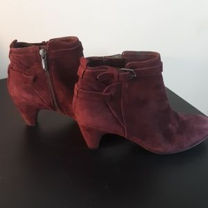 Sam Edelman Buckle Suede Maddox Booties